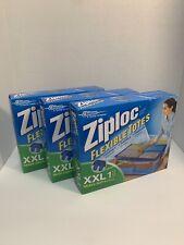 3x Ziploc Flexible Extra Extra Large Clothes Storage Bag