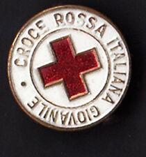 Pin  DISTINTIVO SPILLA CROCE ROSSA ITALIANA GIOVANILE FIRENZE PINS INTERESSANTE