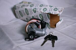 1987-1992 Land Rover Range Rover Ignition Lock Cylinder Assembly with Keys NOS