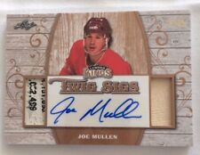 2017 Leaf Lumber Kings JOE MULLEN 4/25 Stick Autograph Twig Sigs SP