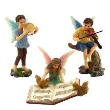 Fairy Garden Accessories Ornament Kit  3 Miniature Fairies by Pretmanns
