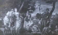 The Finding of Moses, Paolo Veronese & Others, Magic Lantern Glass Slide