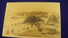 English Bay Stanley park postcard Vancouver BC 1919 #1237