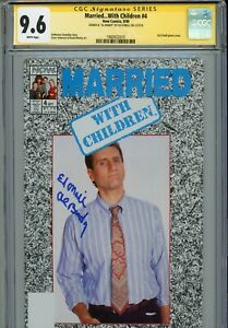 """~~ MARRIED...WITH CHILDREN #4 Hand-Signed ED O'NEILL """"AL BUNDY"""" (CGC SS 9.6) ~~"""
