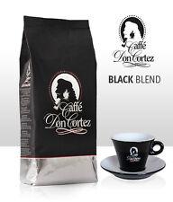 Kaffee Don Cortez BLACK BLEND, Ganze Bohne, 1kg