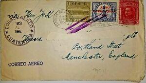 U) 1932, GUATEMALA, GENERAL ORELLANA 1926, COLUMBUS MONUMENT CIRCA 1926, POST OF