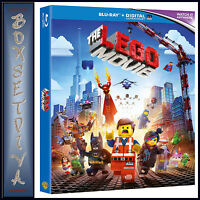 THE LEGO MOVIE * BRAND NEW BLU-RAY REGION FREE**