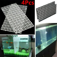 New listing 4Pcs Aquarium Fish Tank Grid Isolate Board Filter Tray Divider Sheet Us Stock