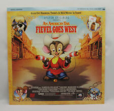 AN AMERICAN TAIL  FIEVEL GOES WEST - LASER DISC - DIGITAL SOUND STEREO SPIELBERG