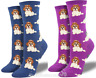 Womens Quality Socksmith 'Shih Tzu Not' design socks One Size Dog lover gift