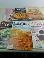 Vintage LOT of 6 Better Homes & Gardens Magazines Decorating Food Recipes Ideas