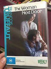 The Woman Next Door ex-rental region 4 DVD (1981 French drama movie) rare