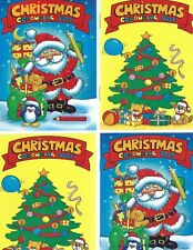 24 A6 SIZE CHRISTMAS COLOURING  BOOKS 2 DESIGNS 12 OF EACH IDEAL-PARTY BAGS-GIF