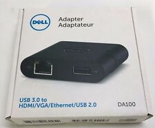 Dell USB 3.0 to HDMI/VGA/Ethernet/USB 2.0 Adapter (1C3)