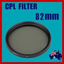 High Quality DSLR Camera Lens 82mm Circular Polarizing (CPL) Filter Canon Nikon
