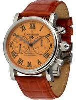 Löwenstein Uhren Schaltrad-Chronograph Handaufzug Uhr Herrenuhr Uhrenbox