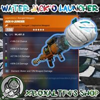 1x P130 WATER or ENERGY or NATURE Jack'o Dura 20/150 | Fortnite STW XBOX/PS4/PC