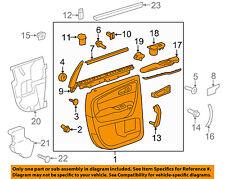 Chevrolet GM OEM 13-17 Traverse-Door Interior Trim Panel Left 23273309