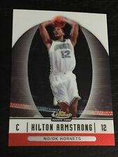 2006-07 Finest HILTON ARMSTRONG RC #59 basketball card ~ Hornets rookie ~ F1