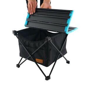 Portable-Outdoor Folding Table Basket Hanging Storage Mesh Net-Camping Equipment