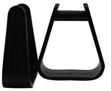 Molded Plastic Pony Saddle Stirrup 4 1/4 Inches Wide - New Horse Tack