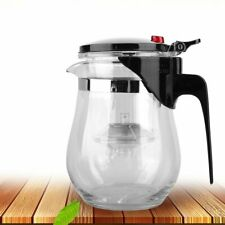 500ML Heat Resistant Glass Teapot Convenient Office Chinese Kung Fu Tea Pot+%