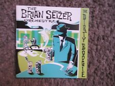 """THE BRIAN SETZER ORCHESTRA """"DIRTY BOOGIE"""" 1998 INTERSCOPE NM/NM SWING REVIVAL"""