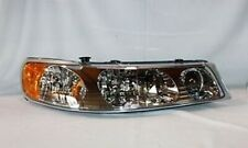 Right Side Replacement Headlight Assembly For 1998-2002 Lincoln Town Car