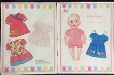 Baby Sarah Paper Doll by Anne Donze, Mag. PD. 2011