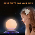 "6"" Magnetic Levitating Table Moon Lamp Globe  LED Light Kids' Room Home Decor"