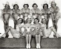 "Vintage 1936 ""SING BABY SING"" Movie PUBLICITY PHOTO Beautiful Chorus Girls Leggy"