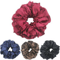 Flexible Rubber Band Simple Hijab Volumizing Scrunchie Large Hair Bow Headwear