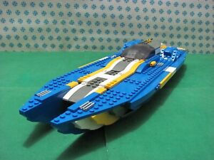 Vintage Lego 4402 Speedboat off Shore Complete + Instructions Cm.14x43