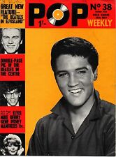 Pop Weekly Magazine 16 May 1964     The Beatles     Cilla Black     Gene Pitney