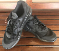 Nike AIR MAX OKETO (GS) Triple Black Athletic Running Shoes Youth  Sz 6 NEW