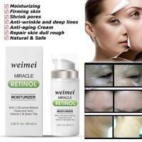 Facial Cream Retinol 2.5% Serum Hyaluronic Acid Anti -Aging Vitamin E Face care