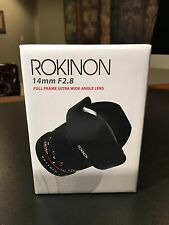 Rokinon Canon EF 14mm f/2.8 UMC IF ED Lens For Canon