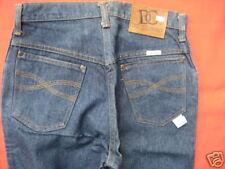 New Vintage 1970s DC Western Blue Jeans Pants Rockabilly Retro Denim Mod Disco