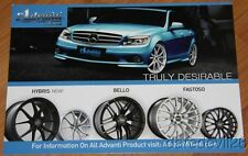 2013 Advanti Wheels Mercedes-Benz SEMA Show Promo info card