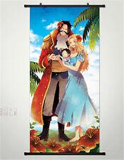 Neu Anime Manga One Piece Wallscroll Stoffposter 45x125cm 035