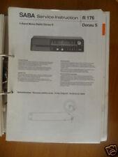Service-Instruction Saba Donau P/S/E  HiFi,ORIGINAL