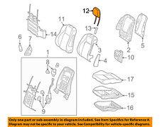 Mercedes MERCEDES-BENZ OEM GLK350 Front Seat-Headrest Head Rest 20497001808P26