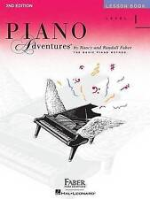 Piano Adventures: Level 1 - Lesson Book by Nancy and Randall Faber