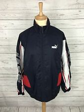 Mens Puma Retro Shell Jacket - Large - Navy - Great Condition
