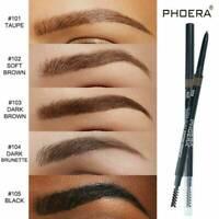 Double Ends Microblading Eye Brow Eyeliner Eyebrow Pen Pencil Brush Waterproof