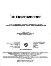 THE END OF INNOCENCE NM! TSR Adventurers Guild RPGA D&D