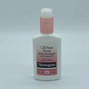 Neutrogena Oil-Free Acne Moisturizer Pink Grapefruit 4oz Expires 5/2021+