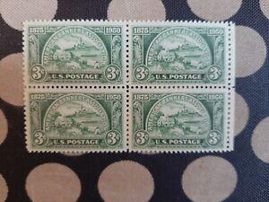 1950 SC#987,block of 4