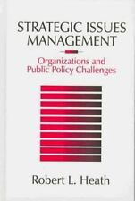 Strategic Issues Management : Organizations and Public Policy Challeng-ExLibrary