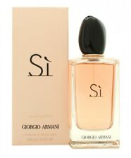 GIORGIO ARMANI SI EAU DE PARFUM 100ML SPRAY - WOMEN'S FOR HER. NEW